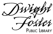logo for the Dwight Foster Public Library