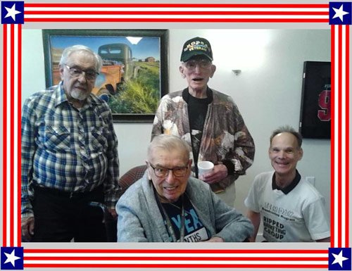 Mr. Laverne Borchardt in Group Photo